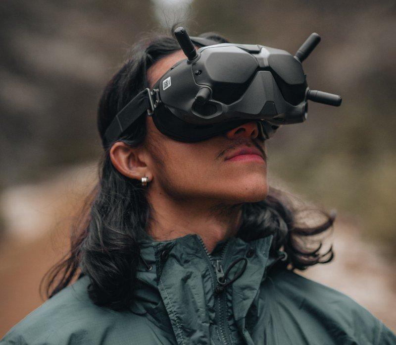 drones goggles
