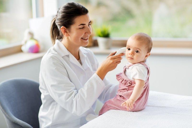 termometro oido bebe