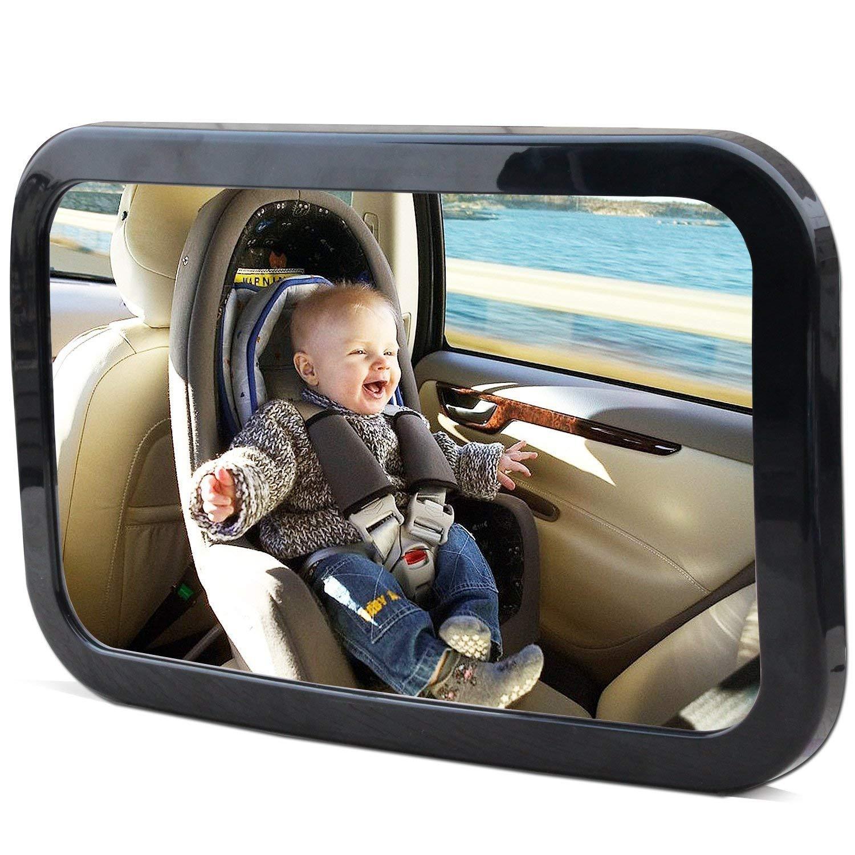espejo vigila bebe coche