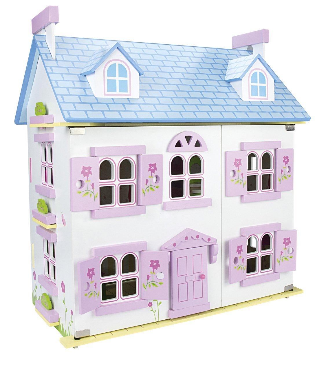 casa muñecas madera