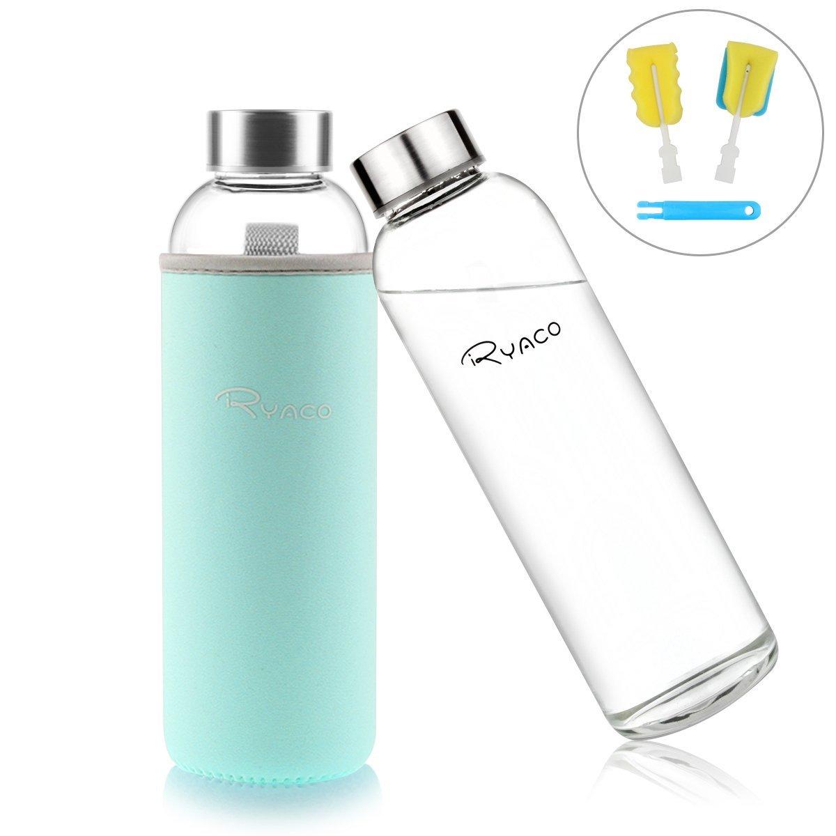 botellas de cristal para agua