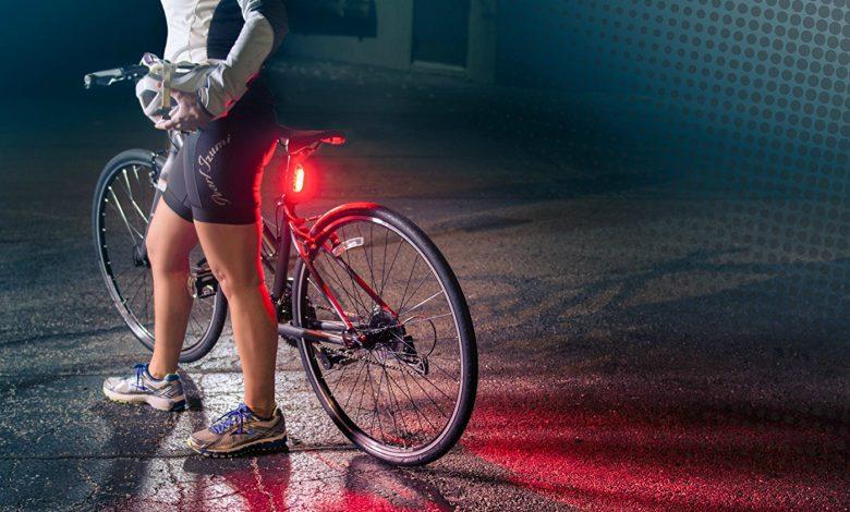 luz trasera bici potente