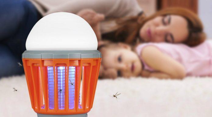 lampara antimosquitos