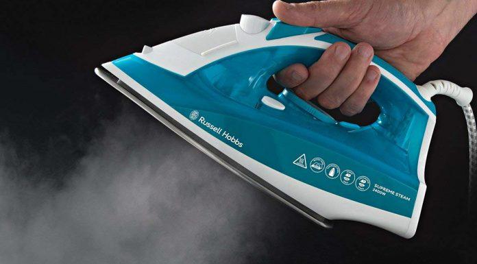como limpiar una plancha de vapor