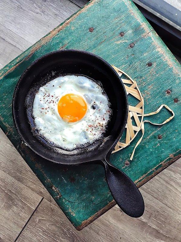 sarten para huevos fritos