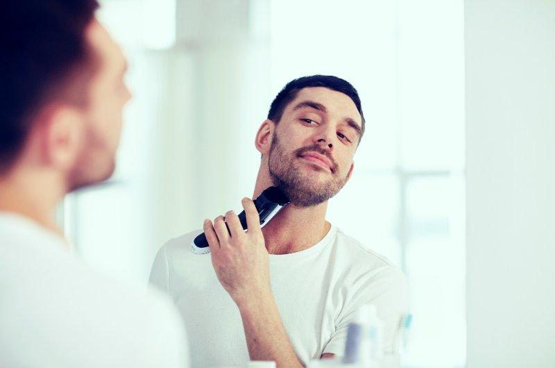 como arreglar una barba