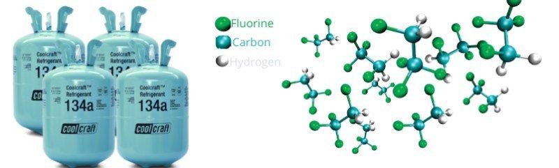 gas refrigerante R1134a