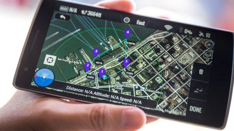 planifica la ruta del drone